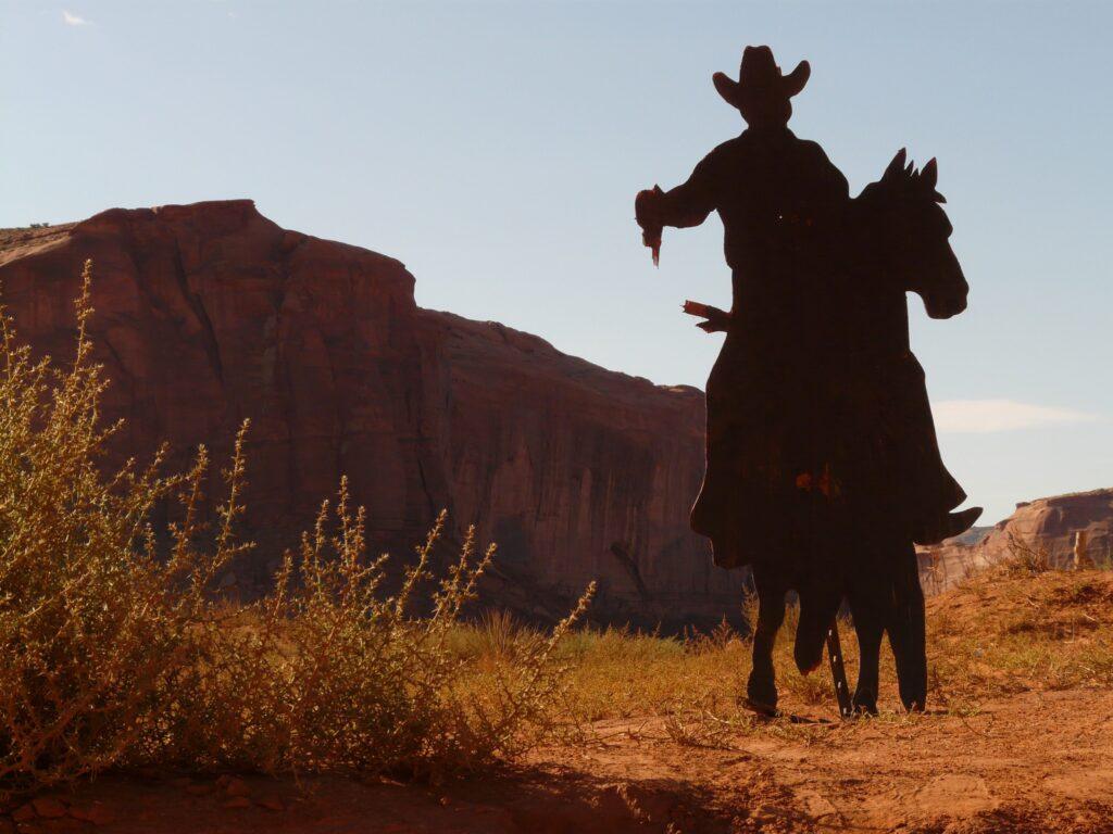 cowboy, desert, revolver