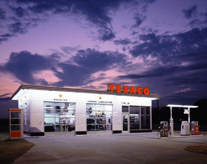 gas station, workshop, garage