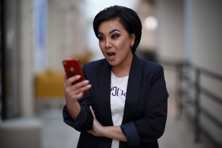 woman, surprised, shocked